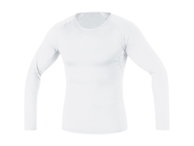GORE RUNNING WEAR Essential Base Layer Shirt Long Men white
